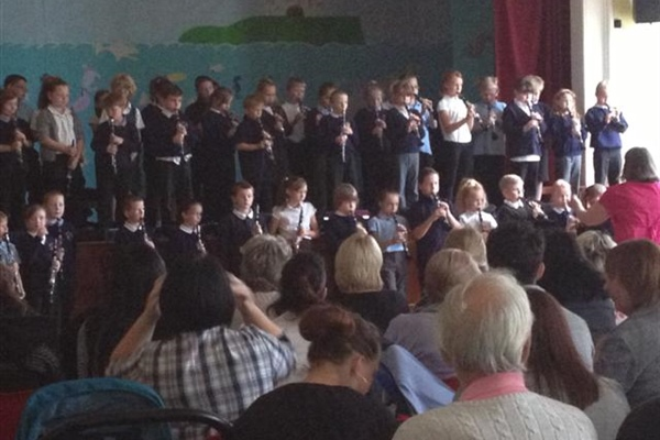 Musical Concert by Year 3 and 4